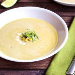 Grilled Corn Soup