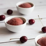 Cherry Balsamic Sorbet