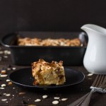 Panettone Bread Pudding with Brandy Sauce