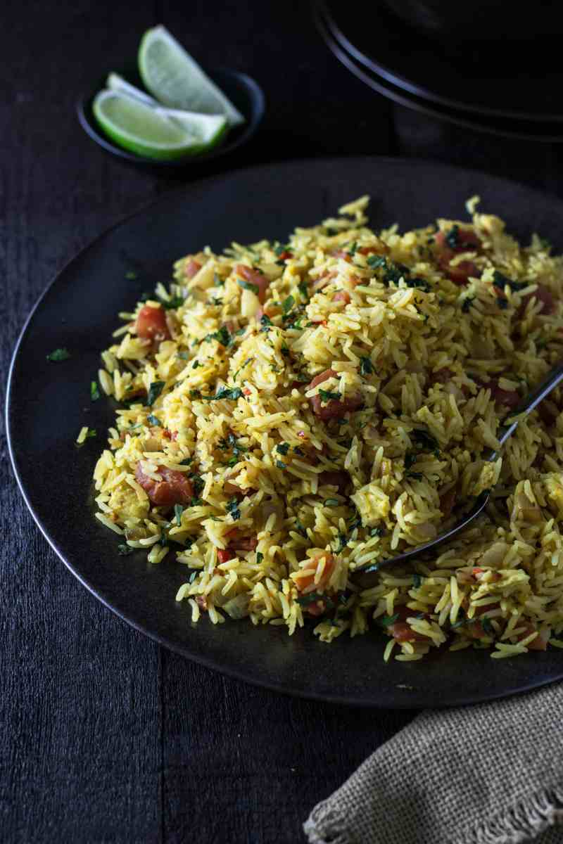 Indian-Spiced Fried Rice