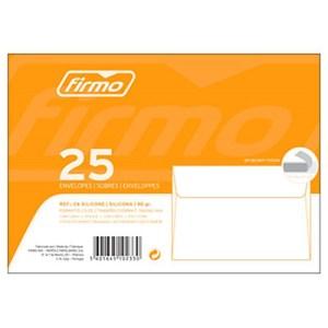 Maço C/ 25 Envelopes C6 114x162 Silicone