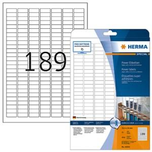 Etiquetas Herma 25.4 x 10mm 4333