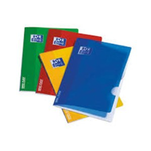 Caderno agrafado A5 Open Flex - Oxford