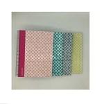 Pack 8 cadernos capa dura Smooth A5 80fls - Pautado