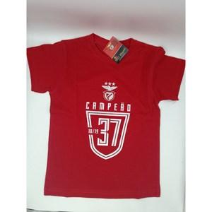 T-shirt SLB Campeão