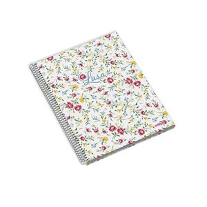 Caderno espiral CDura A4 120fls 70grs - Lusa