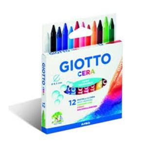 Emb. c/12 lápis de cera - Giotto