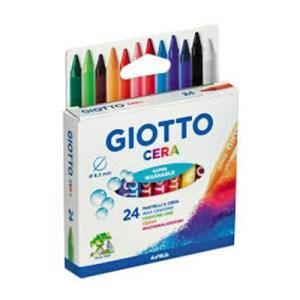 Emb. c/24 lápis de cera - Giotto