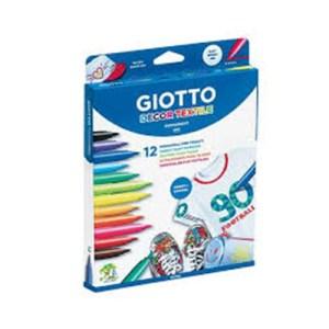 Emb. c/12 marcadores Giotto Textile Decor