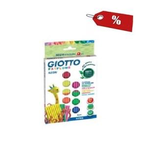 Plasticina Neon 33grs x 8 - Giotto