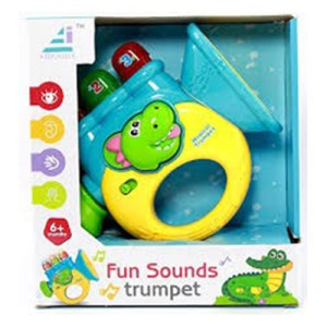 Brinquedo - Trompete c/luz e sons