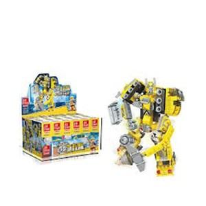 Blocos de construção 2 em 1 - Robot/Camião