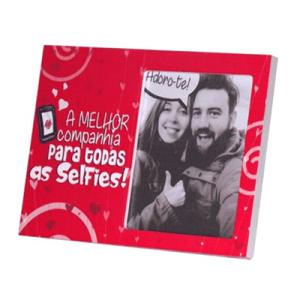 Moldura placa - Selfies