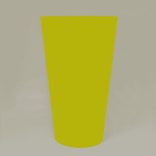 Copo Twister de acrilico Personalizado550 ml
