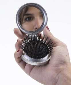 Escova com Espelho Personalizado