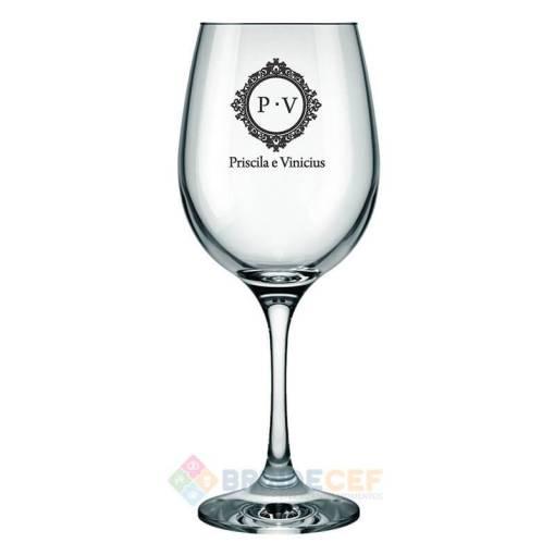 Taças de Vidro de Agua Barone 490ml Personalizadas para Brindes e Eventos