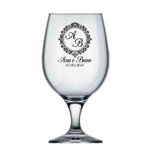 Taça Personalizada de Vidro 500ml Belga