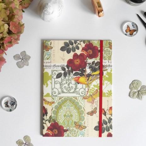 jolies pochettes illustrées de papiers italiens
