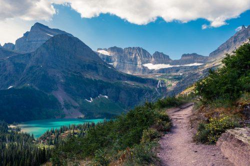 glacier view, glacial lake