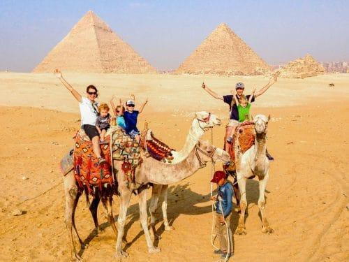 pyramids with kids