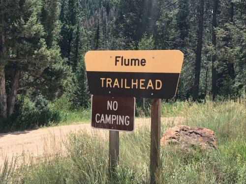 mountain biking dry flume