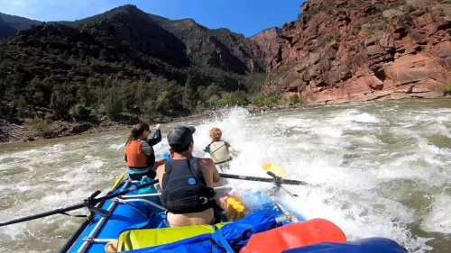 gates of Lodore rafting Green river