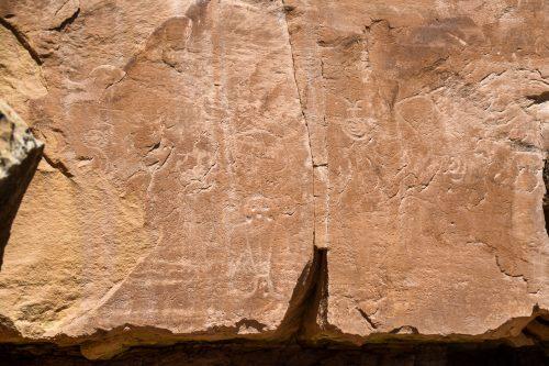 petroglyphs Mcconkie Ranch