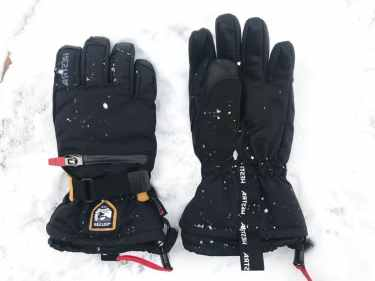 hestra kids gloves waterproof