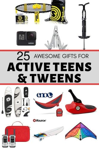 gifts for active teens