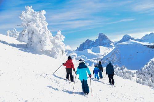 skiing grand targhee kids