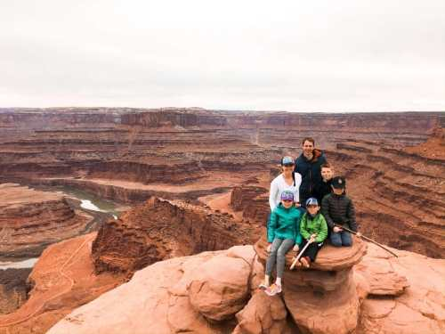 dead horse point moab with family