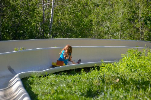 park city alpine slide with kids