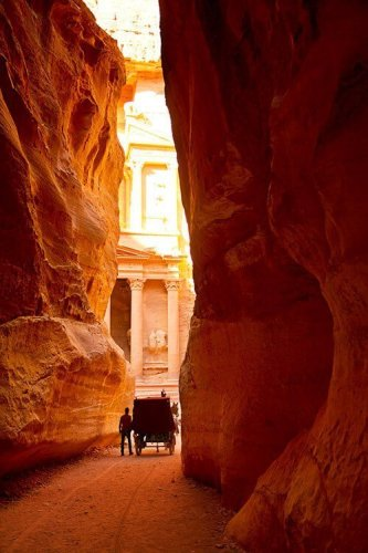 petra with teens