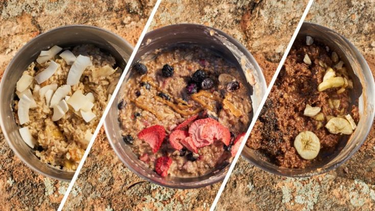 Backpacking Oatmeal: 3 Perfect Combinations