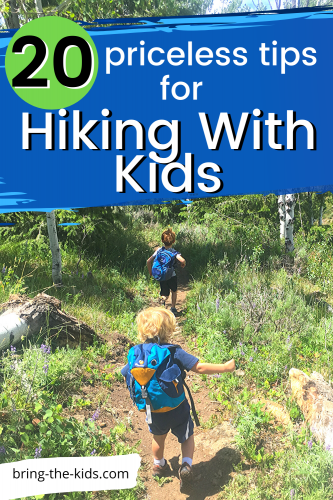 Hiking with Kids: 20 Priceless Tips