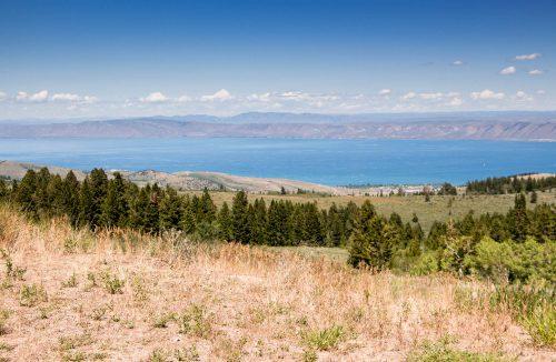 bear lake utah overlook
