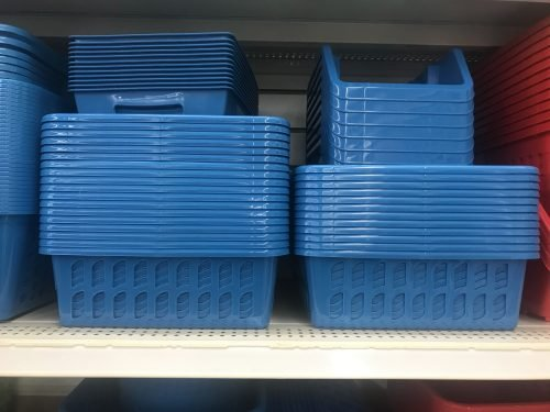 plastic storage bins for RV