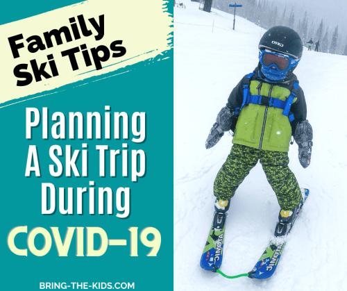 Skiing baby