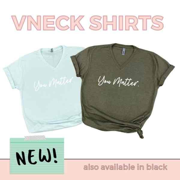 VNeck Shirts New