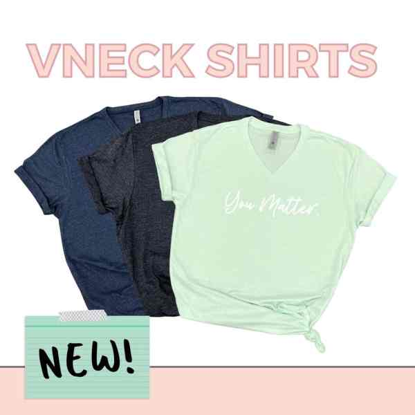 VNeck Shirts New in 3 Colors