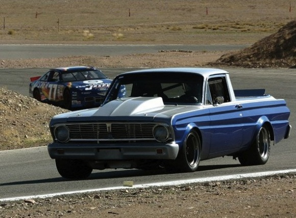 B Sedan Freakout 1965 Ford Falcon Ranchero Bring A Trailer
