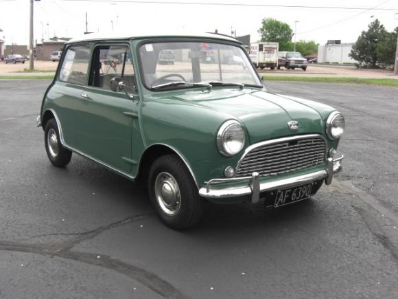 1963 Austin Mini Mk1 Bring A Trailer