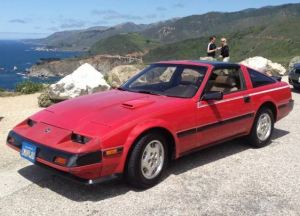 Clean 80K Mile 1985 Nissan 300ZX Turbo   Bring a Trailer