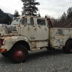 Rusty Rarity Awd Converted 1948 Ford F5 Crew Cab Bring A Trailer
