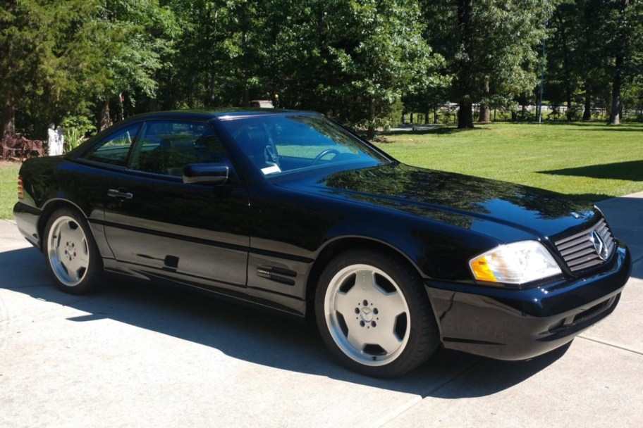 27k-Mile 1998 Mercedes-Benz SL500