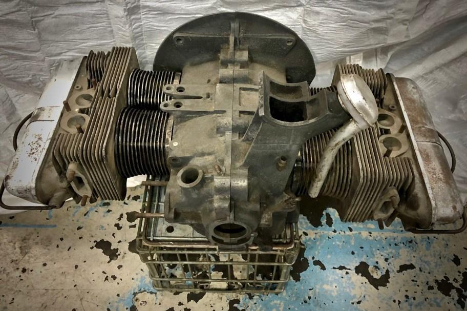 1953 Porsche 356 Pre-A 1500 Engine