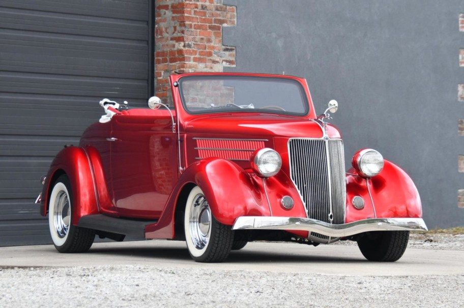 Modified 1936 Ford Model 68 DeLuxe Roadster