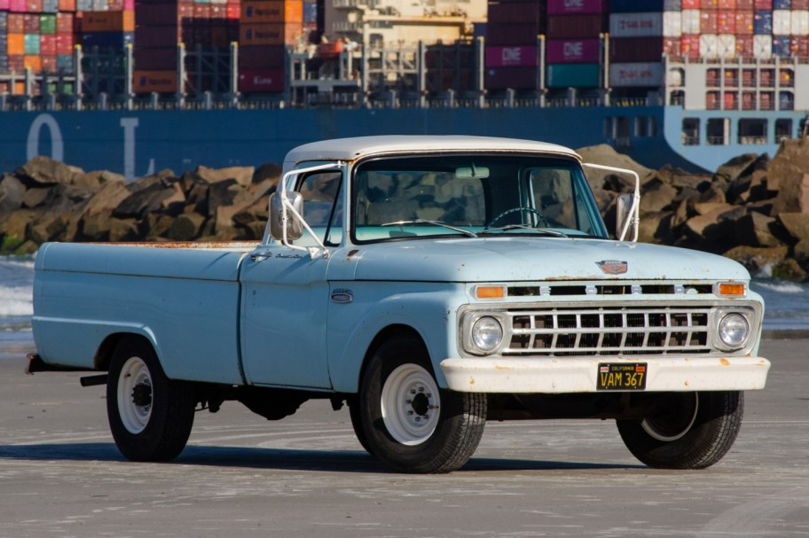 No Reserve: 390-Powered 1965 Ford F-250 Camper Special 4-Speed