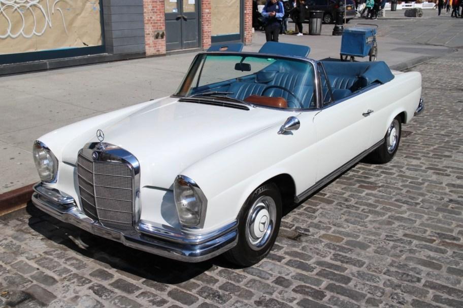 Euro 1967 Mercedes-Benz 250SE Cabriolet 4-Speed