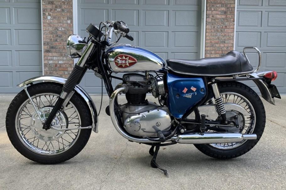 No Reserve: 1968 BSA 650 Lightning